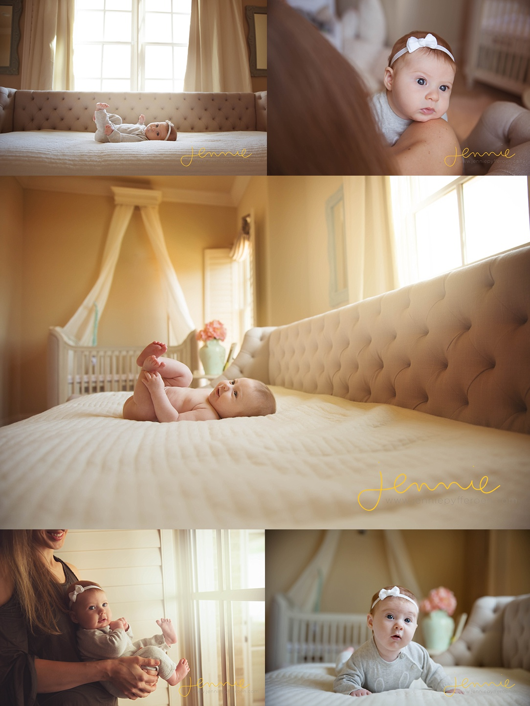 Nashville Baby Photographer Lifestyle 3 Months in home emotion candid
