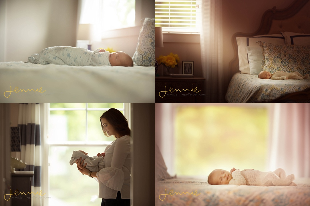 Nashville Baby Photographer lifestyle in home session