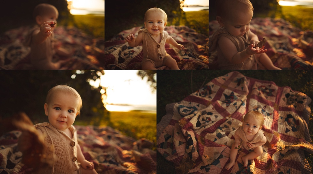 Nashville Baby Photographer One year old 12 months milestones developmental leap brain growth